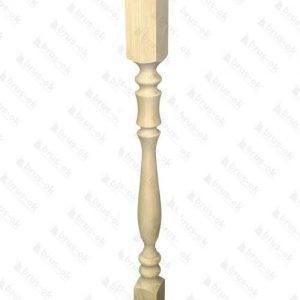 Столб начальный сосна №3А